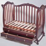 Инструкция по изготовлению самодельной детской кроватки: чертежи и фото