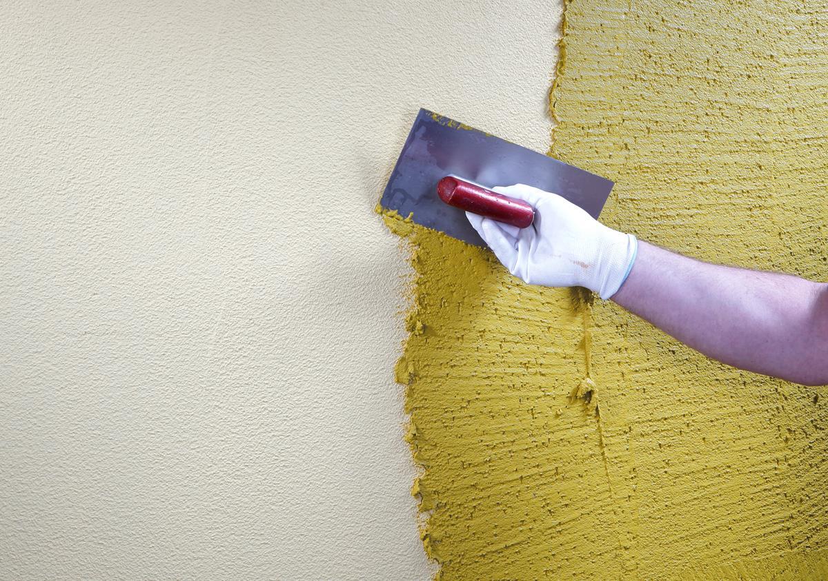 Как своими руками сделать декоративную штукатурку короед