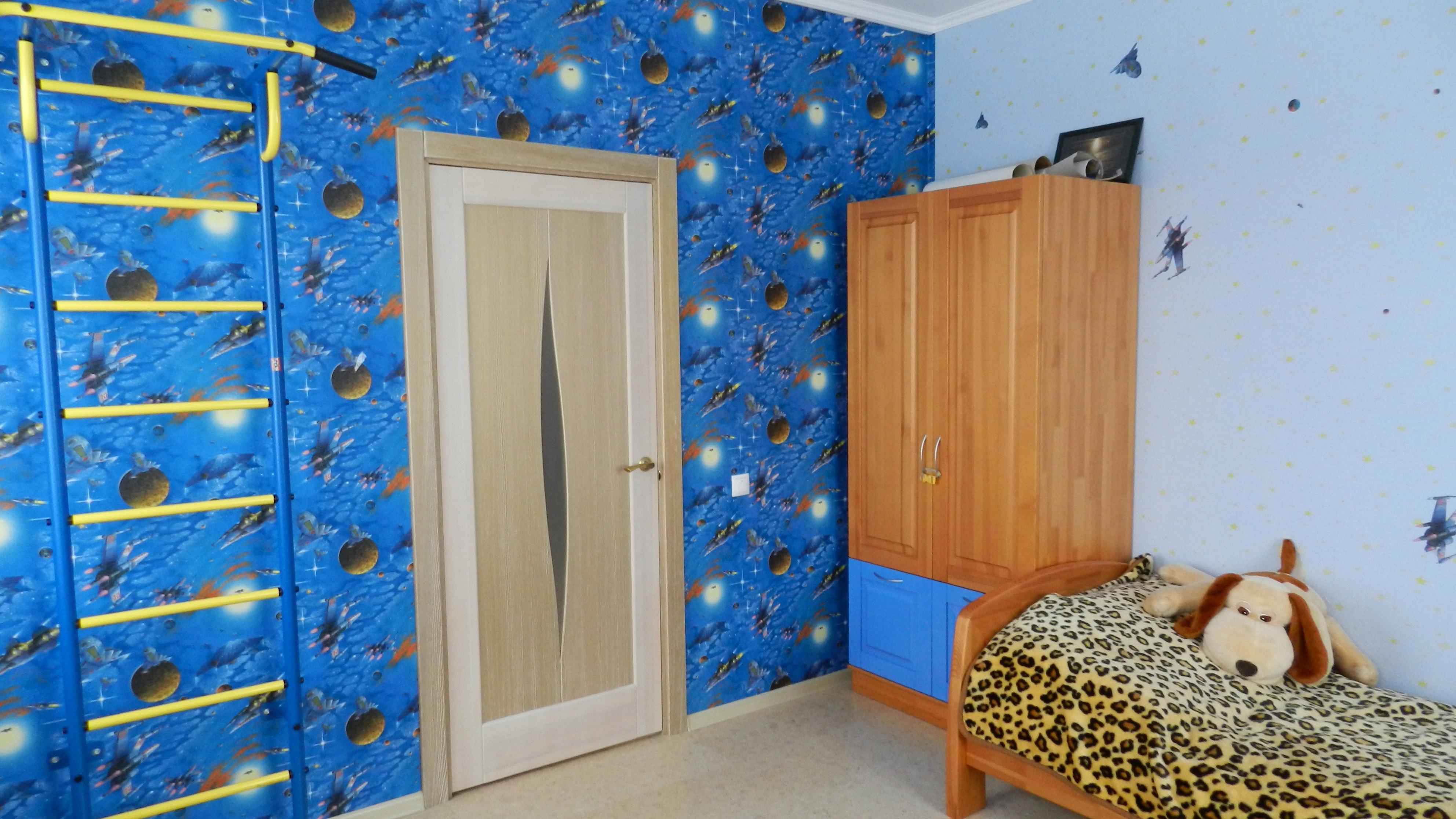 рисунки на стены в детской комнате своими руками фото