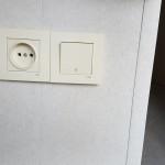 Какая высота оптимальна для выключателя и розетки