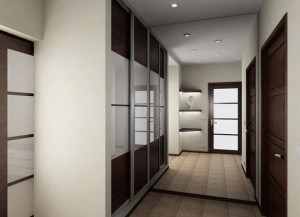 Квартира с узким коридором