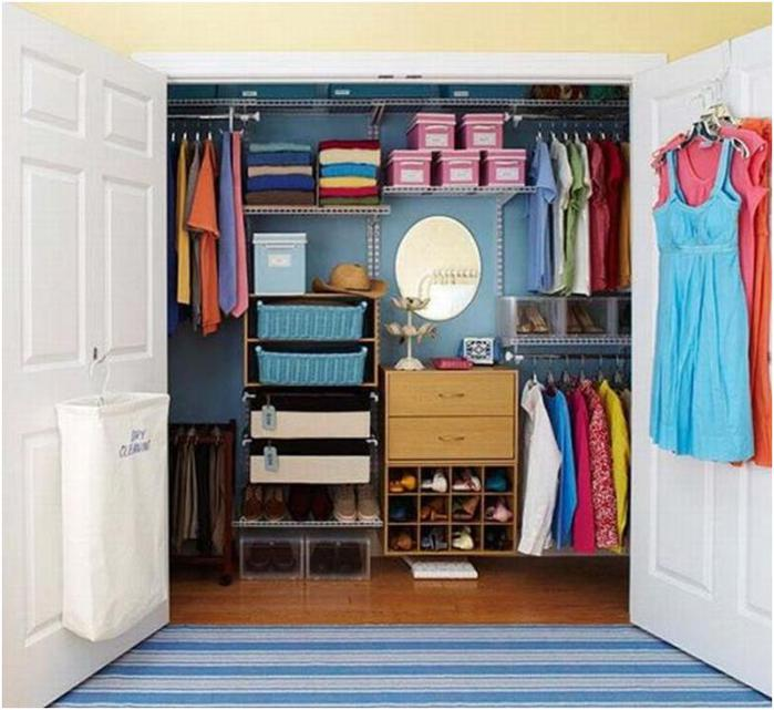 Фото идеи для гардеробной комнаты