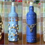 Делаем красивые вазы из пластиковых и стеклянных бутылок