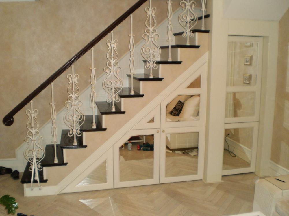Лестница-шкаф своими руками на второй этаж