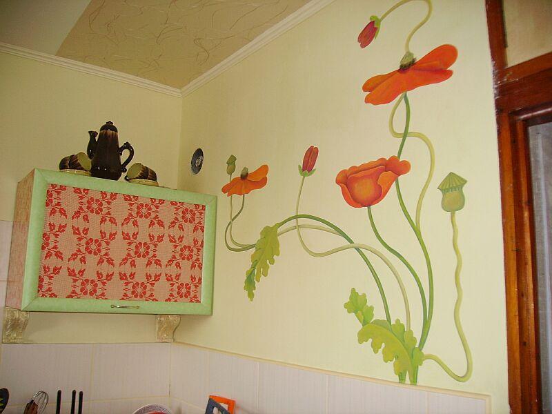 Декор стен на кухню своими руками фото