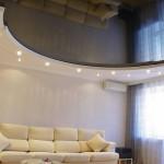 Матовые, глянцевые и сатиновые натяжные потолки: какой вариант лучше