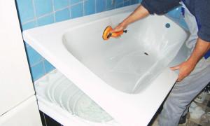 Реставрации старой ванны