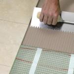 Особенности укладки керамической плитки на теплый пол