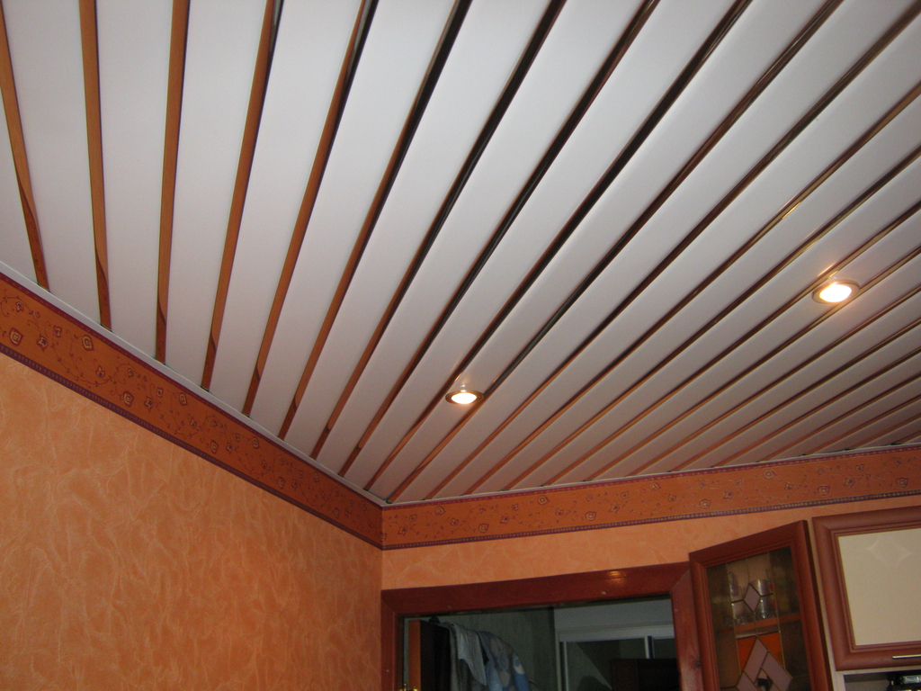 панели потолочные для кухни фото