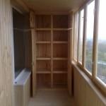 Вместительный и красивый шкаф на балконе: делаем своими руками