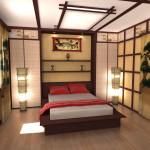 Спальня в японском стиле: важные атрибуты, выбор оформления