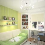 Идеи интерьера маленькой комнаты