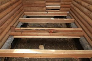Устройство в деревянном доме подпола