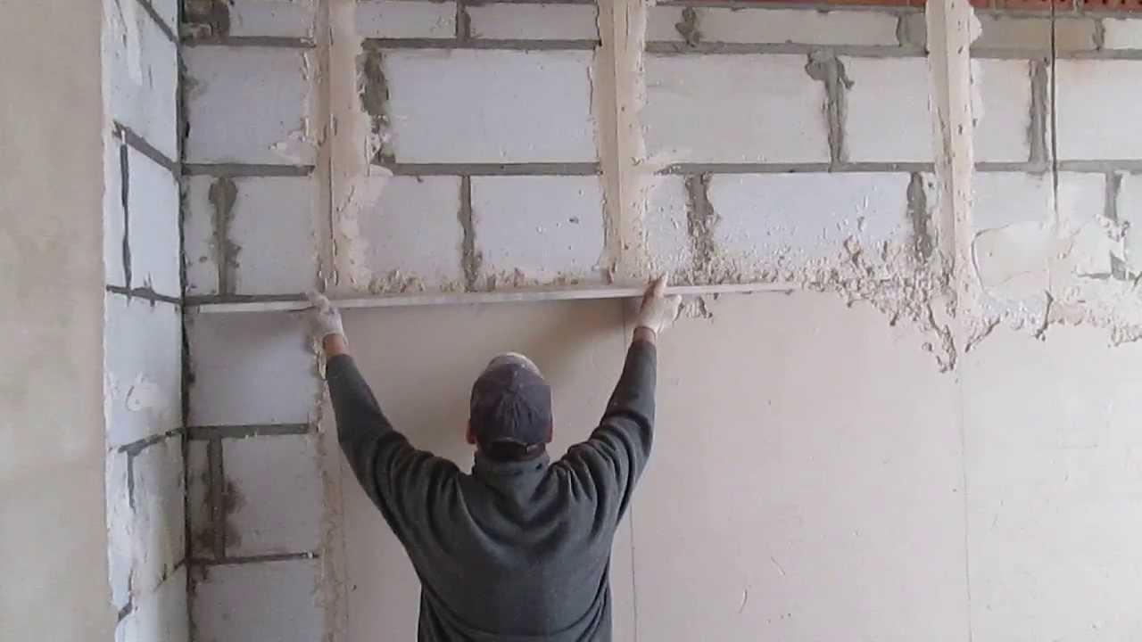 Штукатурка стен раствором своими руками