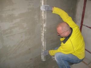 Штукатурка стен цементным раствором своими руками без маяков 29