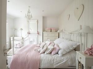 Спальня в стиле шебби-шик – важные моменты