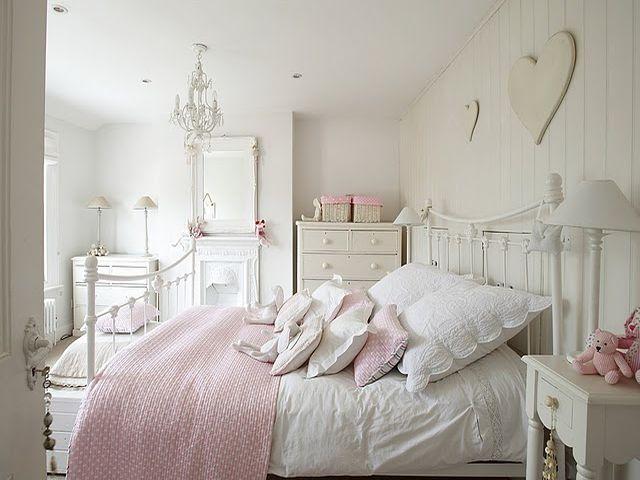 фото спальни в стиле шебби шик