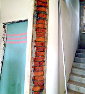 Чем и как можно закруглить угол стены (3)