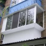 Как делается остекление балконов алюминиевым профилем