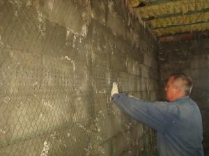 штукатурить стены из пеноблока