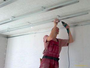 Комплексный ремонт потолка своими руками